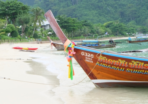 longtail boats - thailand