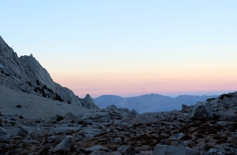 Mount-Whitney-Sunset