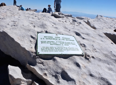 Mount-Whitney-summit-plaque